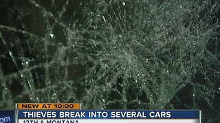 Vandals break into at least a dozen cars on south side - Video