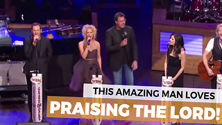 They Told Vince Gill Not To Sing About Jesus, But He Does Anyway! - Video