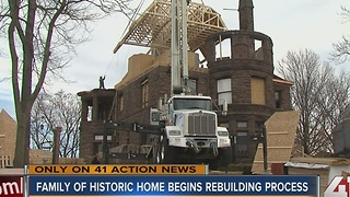 Neighbors help rebuild historic Kansas City home after fire - Video