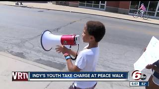 Indy's youth take charge at peace walk - Video