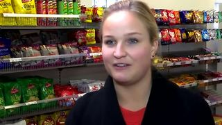 Sweden's first unmanned grocery store - Video