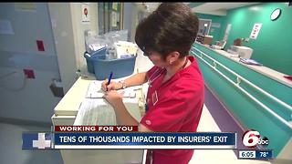 Thousands impacted by insurer exits from Indiana's Obamacare exchange