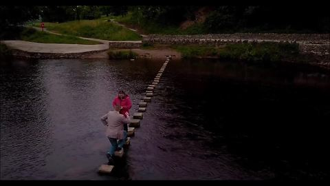Surprise marriage proposal at Bolton Abbey