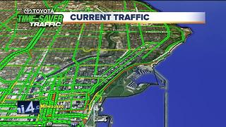 Heavy traffic expected for lakefront fireworks show - Video
