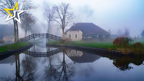 This Tiny Village In The Netherlands Is Like Something Out Of A Real Life Fairy Tale