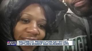 911 call captures moment man murdered wife - Video