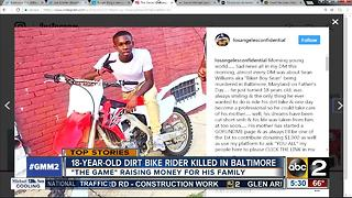 Rapper The Game raising money for dirt bike rider killed in Baltimore - Video