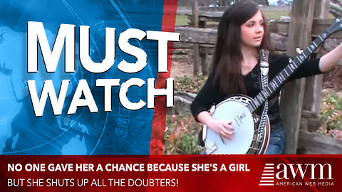 No One Gave Her A Chance Because She's A Girl So She Started Playing, Shuts Up Doubters