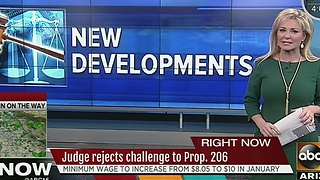 Prop 206 challenge rejected by judge - Video