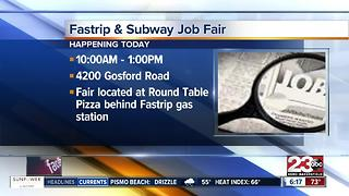 Fastrip and Subway job fair Thursday morning - Video