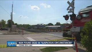 Body of man found in Fond du Lac parking lot - Video