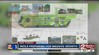 Inola preparing for new business moving in - Video