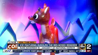 On the Go at Ice! featuring Rudolph the red-nosed reindeer - Video