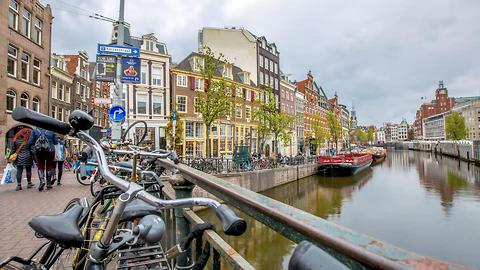 The charm of Amsterdam