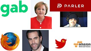 Latest News: Twitter Stock drops, Parler Sues Amazon, Facebook censors Freedom of Speech and more!