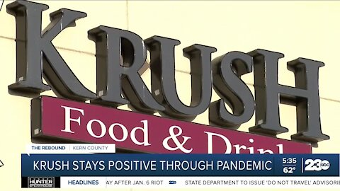 Bakersfield restaurant stays positive after opening in the middle of pandemic