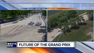 Public comment sought on future of Detroit Grand Prix on Belle Isle - Video