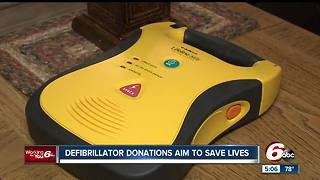 Defibrillator donations aims to save lives - Video