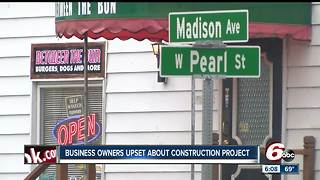 Greenwood business owners upset about construction project that is limiting access to their business - Video