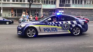 South Australia Police Take Part in Adelaide Pride March - Video