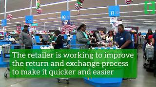 Walmart's changes aim to make the customer experience easier - Video