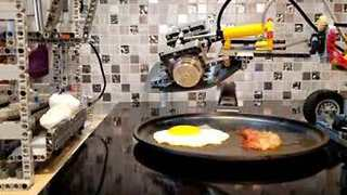 Mornings Are Made Easy With This Lego Breakfast Machine - Video
