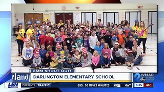 Good morning from Darlington Elementary School!