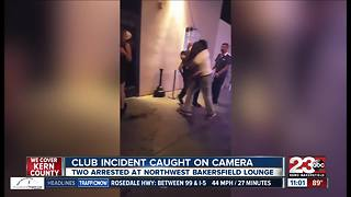 Club incident caught on camera - Video