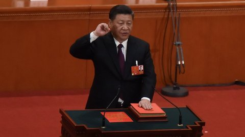 China Reappoints Xi Jinping As President, Surprising Virtually No One