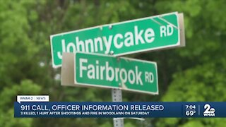 911 calls, officer information released in Woodlawn fire, triple homicide
