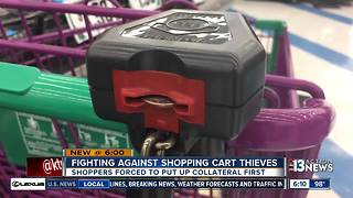 Shopping cart locks meant to stop thieves confusing shoppers - Video