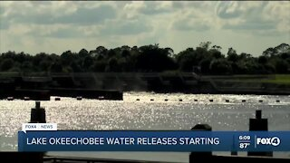 Lake Okeechobee water releases resume