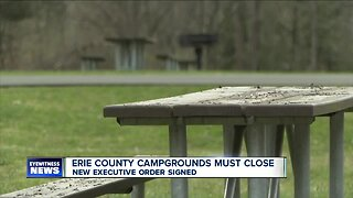 Erie County campgrounds to close following emergency order