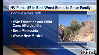 Study: Worst states to raise a family includes Nevada