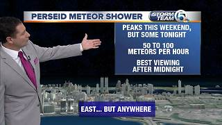 Perseid meteor shower peaks this weekend - Video
