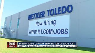 New jobs available after Mettler Toledo relocation to Pasco - Video