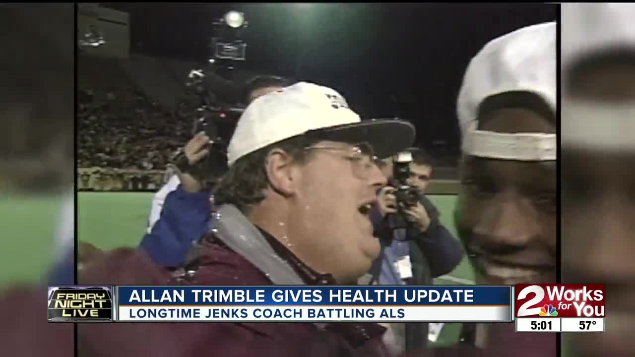 Allan Trimble Gives Health Update