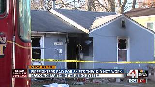 Firefighters paid for shifts they did not work - Video