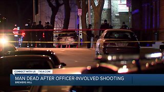 Milwaukee Police investigating fatal officer involved shooting near 4th & Reservoir
