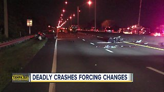 Leaders to make changes due to deadly crashes throughout Pinellas County