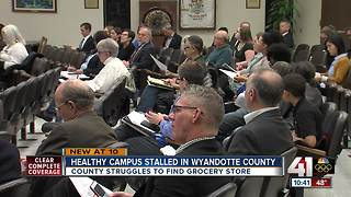 Healthy campus stalled in Wyandotte County