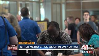 Nearby communities weigh in on new KCI terminal - Video