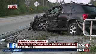 Head-on crash closes Gunnery Road Friday morning - Video