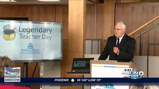 Pima County holds reception to honor teachers - Video