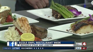 Sizzle Restaurant Week Preview: T-Michaels Steak and Lobster