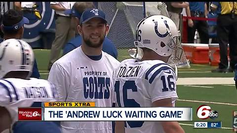 The 'Andrew Luck waiting game'