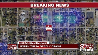 Tulsa Police: 1 dead in hit-and-run crash