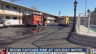 Squatters to blame for motel fire - Video
