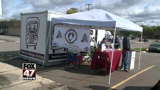 Food truck event to raise awareness for Veterans - Video