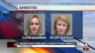 Two Busted in Undercover Prostitution Operation - Video